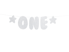 """Banner """"One"""""""