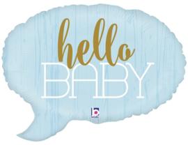 Hello Baby Blue 24inch/61cm