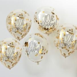 Oh Baby! ballonnen (5 st)