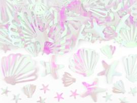 Iridescent Narwal confetti