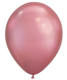 Ballonnen Chrome Rose Gold (5 stuks)