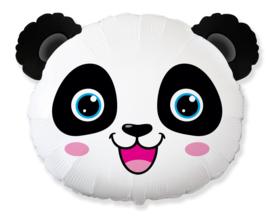 Folieballon Pandahoofd 53cm