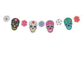 Dia de Los Muertos - DIY Vlaggenlijn
