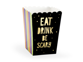 Eat drink and be scary popcorn box (6 st)