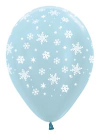 Sneeuwvlok ballon