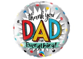 Thank you dad for everything 18inch/45cm