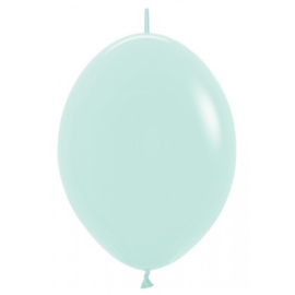 Link-o-Loon 12 inch - Pastel Matte Green (10 st)