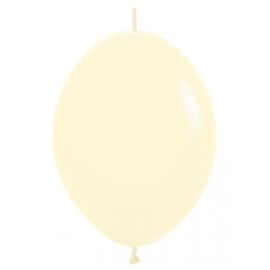 Link-o-Loon 12 inch - Pastel Matte Yellow (10 st)