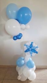 Ballondecoratie Frozen op voet