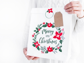 Gift bags: Merry Little Christmas