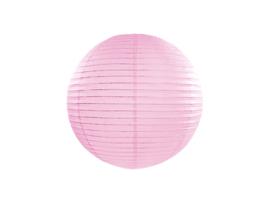 Lampion licht roze, 35 cm