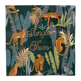 Jungle Fever servetten, 16st