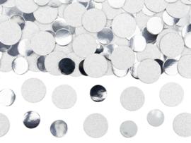 Zilver confetti mix