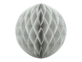 Honeycomb bal licht grijs