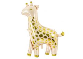 Folieballon giraf gold 102 cm