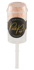 Push and pop confetti peach