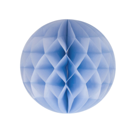 Honeycomb bal licht blauw