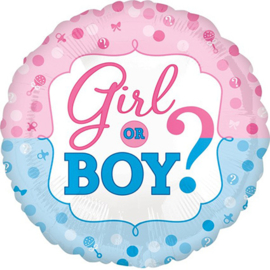 Boy or girl? 18inch/45 cm