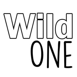 Strijkapplicatie: Wild One
