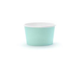 ijs/snoep bakjes turquoise (6 st)