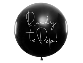 Ready to Pop //  Gender Reveal Ballon