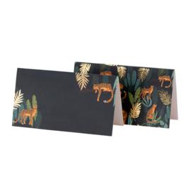 Jungle Fever Naam/Plaatskaartjes 8 st