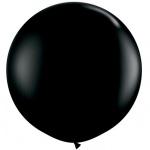 Mega Ballon Zwart (91 cm) / Gender Reveal Ballon