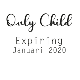 Strijkapplicatie: Only Child Expiring