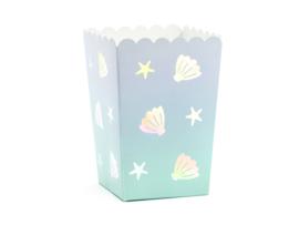 Popcorn box zee thema, 6 stuks