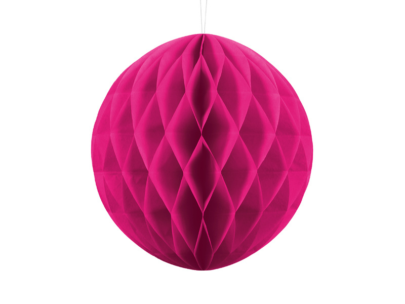 Honeycomb, donker roze 30cm