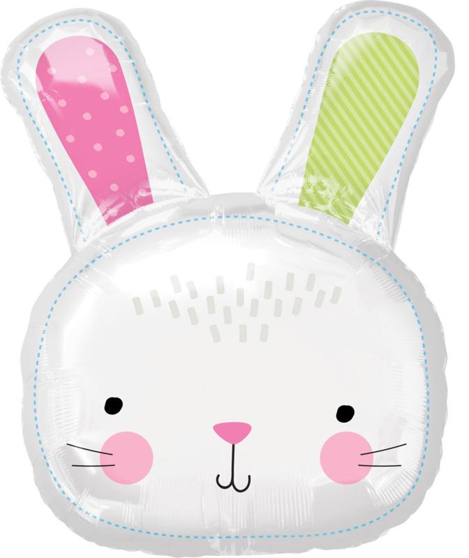 Folieballon Easter Bunny 71cm