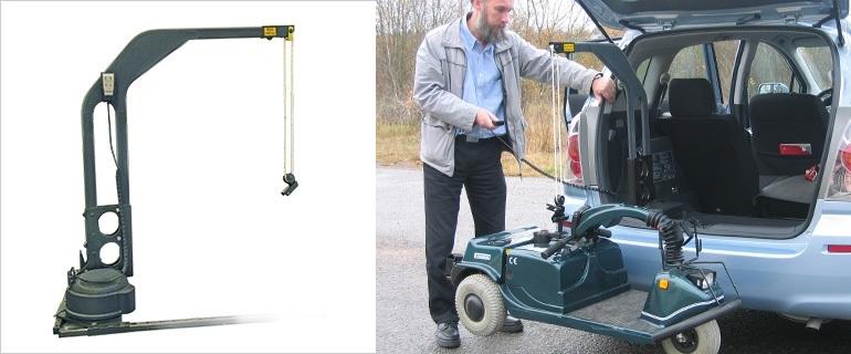 kofferbaklift carony 140 kg