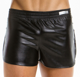 Modus Vivendi Leather Look Short - Zwart