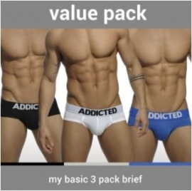 Addicted My Basic 3 Pack Slip