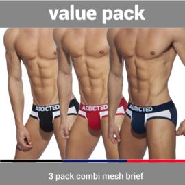 Addicted 3 Pack Combi Mesh Slip