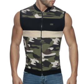 Addicted Camo Combi Vest Camouflage