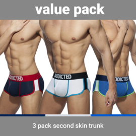 Addicted Second Skin 3 Pack Boxers