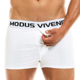 Modus Vivendi Klassieke losse Boxer Wit