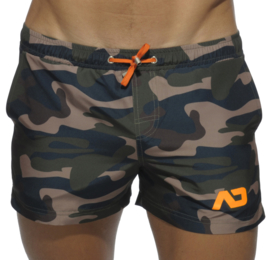 Addicted Zwem Short Camouflage