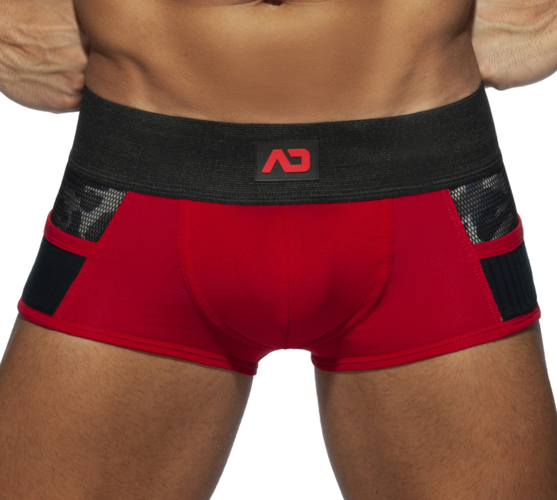 Addicted Army Combi Boxer Rood