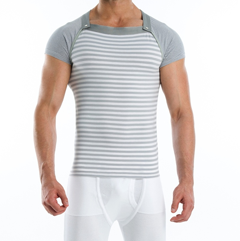 T-Shirt Modus Vivendi Wide Multi-shirt Grijs