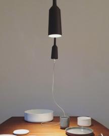 Lamp&Socket set Coal Grey   coal wire
