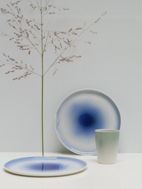 Eclipse plate | Blue