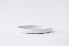 Plate medium (high rim) | White