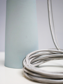 *** SALE *** Limited Edition Lamp Blue | Silver wire