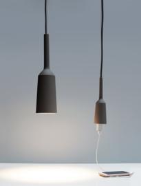 Lamp&Socket set Coal Grey | coal wire
