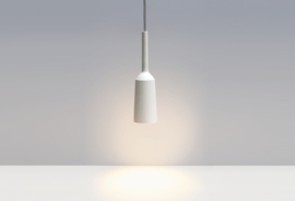 Lamp White | Light grey wire