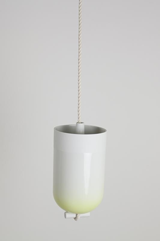 Spatial Vase | Yellow Gradient