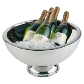 Champagne- en wijnkoeler RVS