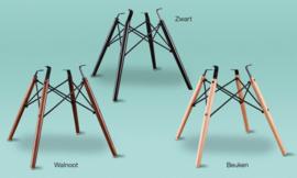 DSW style eetkamer stoel mokka